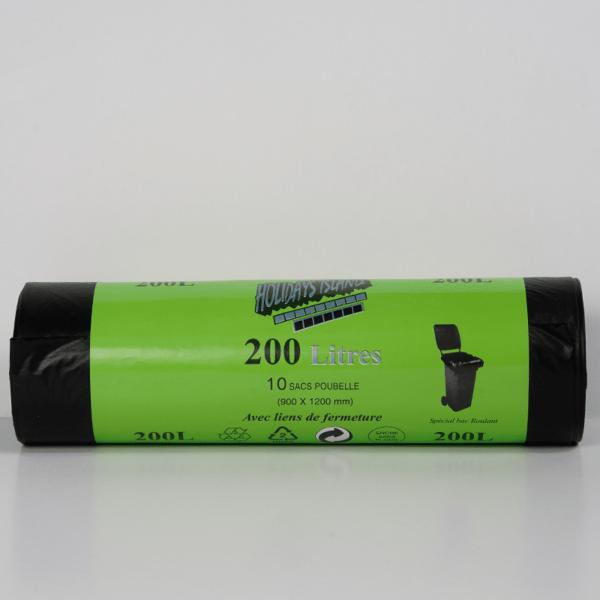 Sac poubelle noir 200 L