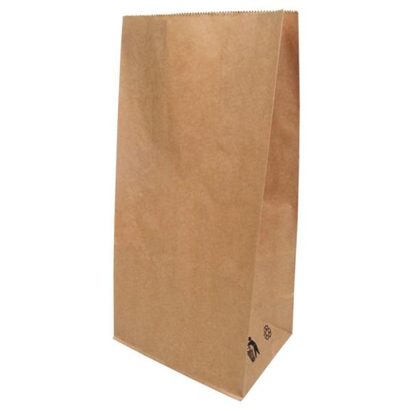 Sacs en papier Kraft sans poignée