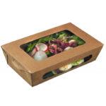Boîtes en carton (salades)